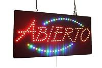 アビエルトサイン LEDオープンサイン、ストアサイン、ビジネスサイン、ウィンドウサイン