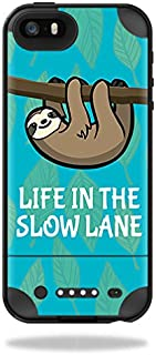 Skin Compatible with Mophie Juice Pack Plus iPhone 5/5S/SE Case – Slow Sloth | MightySkins Protective, Durable, and Unique Vinyl wrap Cover | Easy to Apply, Remove | Made in The USA