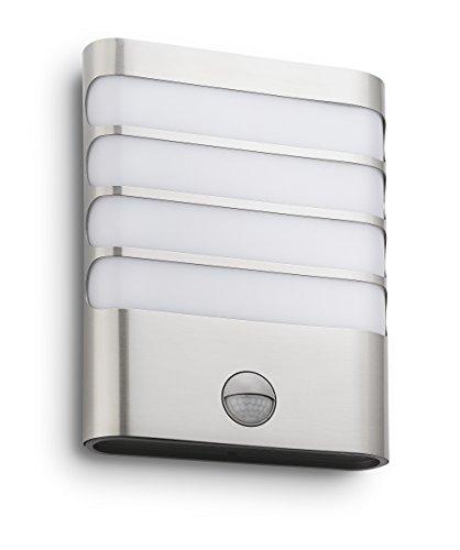 Philips luminaire extérieur LED applique avec détection Raccoon inox