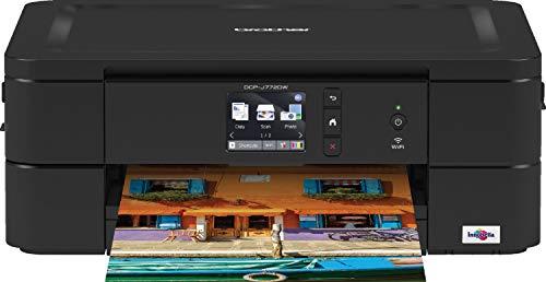 Brother DCP-J772DW 3-in-1 multifunctionele inkjetprinter, compact en WLAN/Wi-Fi Direct | printen, kopiëren en scannen tot DIN A4 | papiervak voor 100 vellen