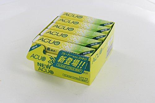 ロッテ ACUO クリアシトラスミント 14粒×20個