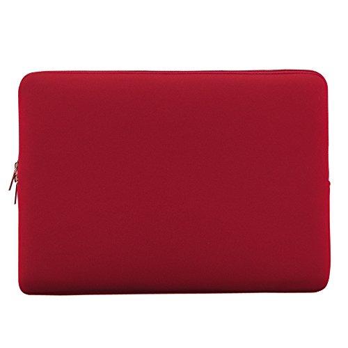 "KKmoon Reißverschluss-weiche Neopren-Tasche für MacBook Air Pro Retina Ultrabook Laptop Notebook 13 Zoll 13\"" 13,3\"" Portable"