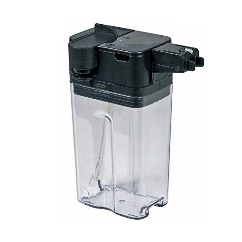 Philips Saeco 421944029452 ORIGINAL Milchbehälter Milchtank Milchtopf Milchkanne Milchkrug komplett transparent schwarz Kunststoff 83 x 197 x 144 mm Kaffeemaschine Kaffeeautomat