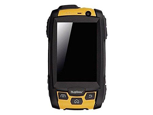 RugGear RG500 Handy (Dual Core MT6572 Prozessor, 1,2GHz, 4GB interner Speicher, 5 Megapixel Kamera, Bluetooth, Android 4.2.2 Jelly Bean) schwarz/gelb