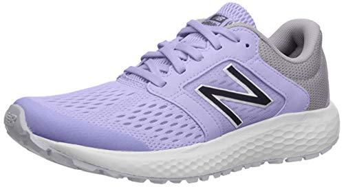 New Balance Women's 520v5 Cushioning Running Shoe, CLEAR AMETHYST/IODINE VIOLET, 7.5 M US