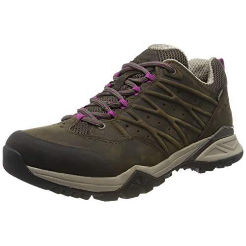 The North Face W HH Hike II GTX, Stivali da Escursionismo Donna, Marrone (Bone Brown/Wildasterpurple 4Ns), 36.5 EU