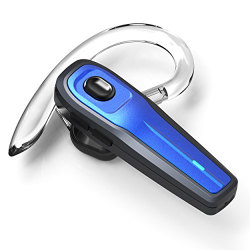 eGe Seed_BB Bluetooth Headset, Wireless Earpiece w/ Mute Switch and Mic for Office/Driving Call
