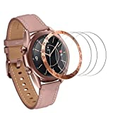 Goseth Screen Protector Compatible with Samsung Galaxy Watch 3 Bezel 41mm Samsung Galaxy Watch 3 Accessories 41mm Samsung Galaxy Watch 3 41mm Screen Protector Galaxy Watch 3 Screen Protector 41mm