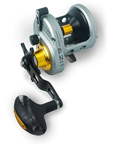 FIN-NOR Lethal LTC H 16 Sea Fishing Star Drag Cod/Pollack/Conger Multiplier Reel by Fin Nor