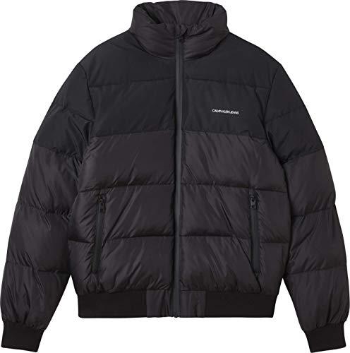 cappotto uomo calvin klein Calvin Klein Jeans Blocking Faux Down Jacket Coat