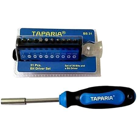 Taparia BS31 Steel Bit Driver Set (Multicolour, 31-Pieces)