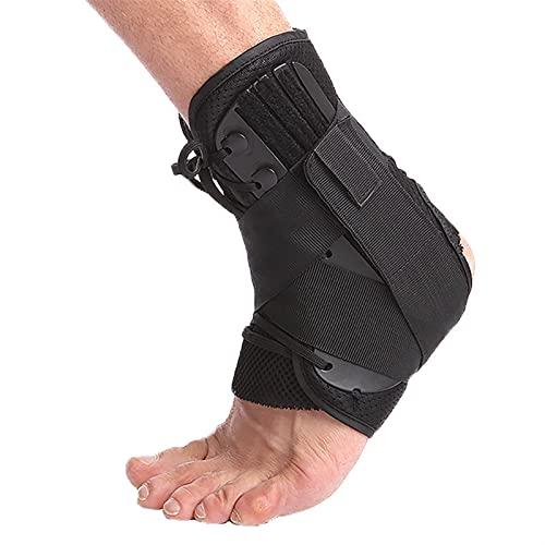 Soporte de tobillo, 1 PC tobillo soporte soporte deportes ajustable encaje arriba tobillero estabilizador correas para tornillo torcido calcetines de compresión protector de mangueras ( Size : XL )