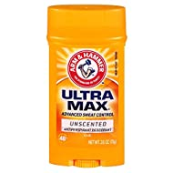 ARM & HAMMER ULTRAMAX Anti-Perspirant Deodorant Invisible Solid Unscented 2.60 oz (6-Pack)