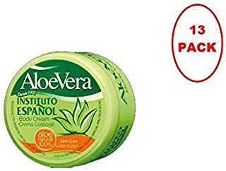 Instituto Espanol Aloe Body Cream 50ml. Pack of 13