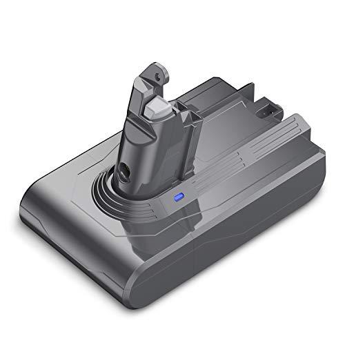Upgrade 21.6V 3.5Ah Replacement for Dyson V6 Animal Absolute Motorhead Fluffy Li-ion DC59 DC58 DC61 DC72 DC74 DC62 595 650 770 880 SV03 SV04 SV05 SV06 SV07 SV09 Handheld Vacuum Cleaner