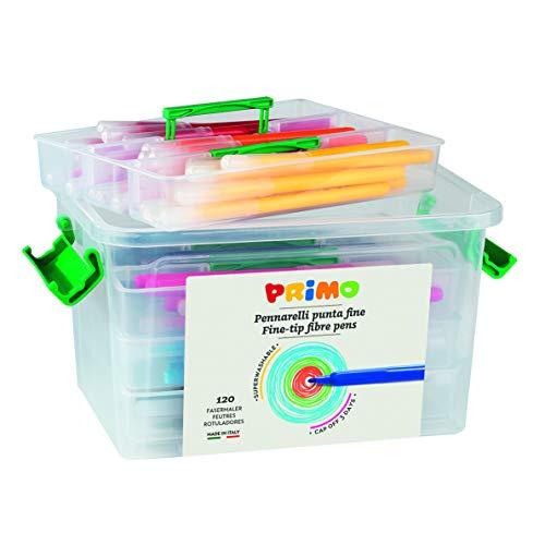 PRIMO- PENNARELLI Punta FINE, Multicolore, 615PEN120