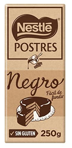 Nestlé Postres Chocolate Negro para Fundir, 250g