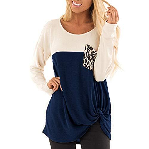 Blouses Chic Wrung Moutarde Jeux Chemisette Femme Manche Courte Tee Shirt personnalisé t Vert Top 12 Ans Noir t-Shirt Rock Chemisier Longue Tunique 20 Long Solde(Bleu,Large)