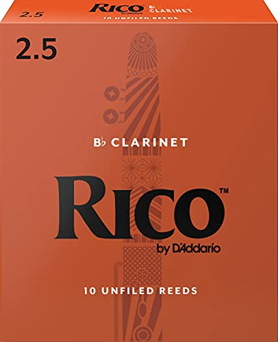 Rico by D'Addario Bb Clarinet Reeds - Best Clarinet Reeds