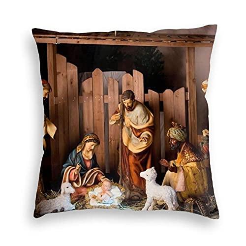 Dekorativa prydnadskuddöverdrag 45 x 45 cm för soffan ge den bästa gåvan denna jul soffa kontor dekor kuddöverdrag