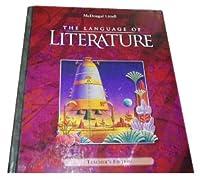 McDougal Littell Language of Literature: Teacher's Edition Grade 7 2002 0618136657 Book Cover