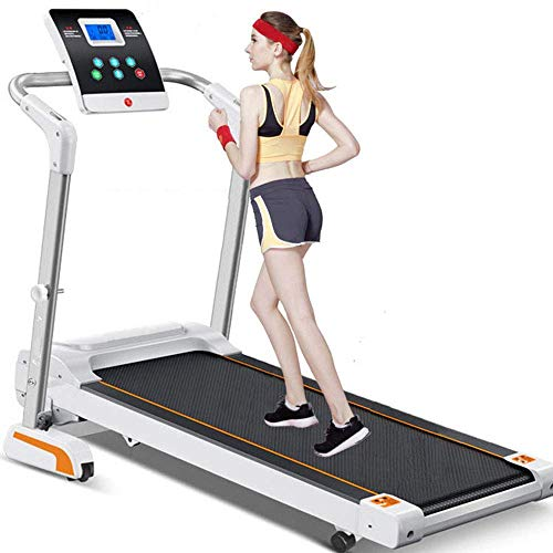 YAJIAN Cinta de correr, Mini Máquina de caminar eléctrica silenciosa Instalación Libre...