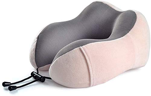 NA Almohada Avestruz Almohada for Cuello, en Forma de U Cervical Almohada de Viaje y de la Almohadilla de los Hombres de Las Mujeres de la Siesta Almohada (Color: D) (Color : D, Size : -)