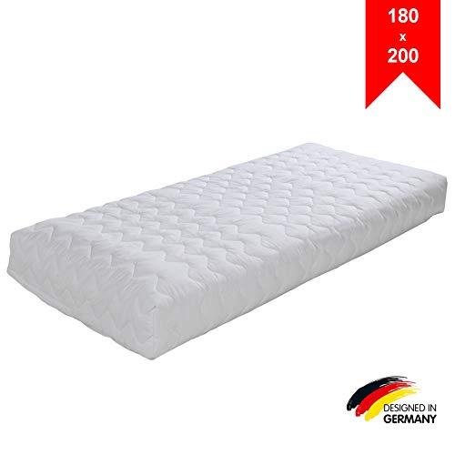 LILENO HOME Matratzenbezug 180x200 cm Reißverschluss - waschbarer Matratzenschoner aus Microfaser ideal für Allergiker - extra weicher Schonbezug für Matratzen (rundum) Höhe 17-19 cm