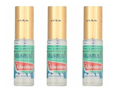 X3 Poy-Sian Thai Pim-Saen Balm Oil 5 ml-Roll On