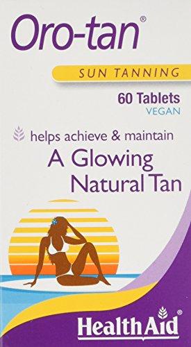 HealthAid OroTan Sun Tanning - Antioxidants -60 Vegetarian Tablets