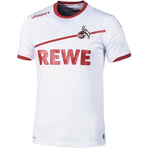 uhlsport Herren 2018/2019 1. Fc Köln Heimtrikot, weiß/rot, S