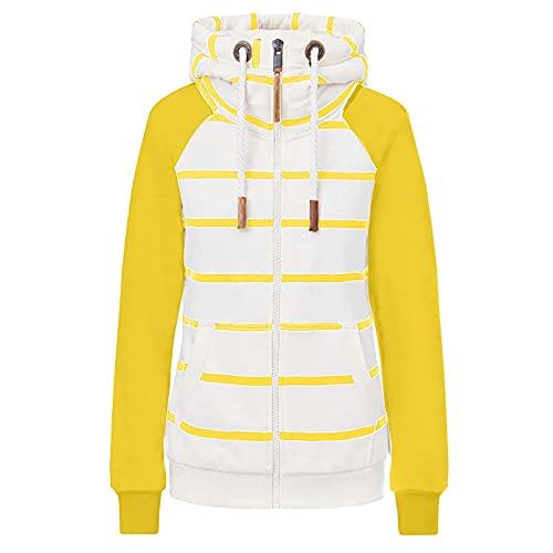 Briskorry Dames rolkraag sweatshirt split capuchontrui met trekkoord lange mouwen casual pullover herfst winter hoodie vrijetijdstop joggen wear bovenstuk