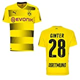 Puma BVB Trikot Home Kinder 2018 - GINTER 28, Größe:176