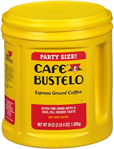 Caf Bustelo Espresso Ground Coffee 36 oz Party Size Canister product image