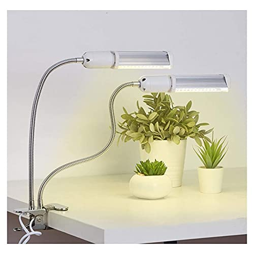 Vases Grow Light E27, Sunlike Indoor Horticulture Lamp- Replaceable Bulb, Double Lamp For Vegetables/Flowers