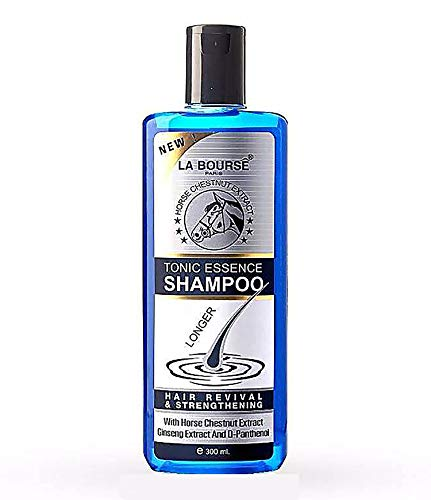 Best Anti Hair Loss Fall Shampoo Hair Regrowth Treatment Tonic Essence Long Hair Fast Boosting X3 Revival Strengthening Horse Tail Extract 300 ML