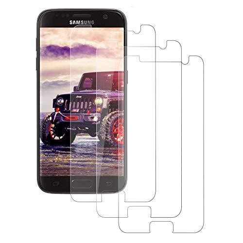 DASFOND 2 Pezzi,Vetro Temperato per Samsung Galaxy S7, Pellicola Protettiva Vetro per Samsung S7, 9H Durezza, Anti-Graffi, Anti Impronta, Senza Bolle, Facile Installazione, Samsung S7 Tempered Film