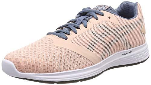Asics Patriot 10, Zapatillas de Running Mujer, Rosa (Baked Pink/Steel Blue 700), 37 EU