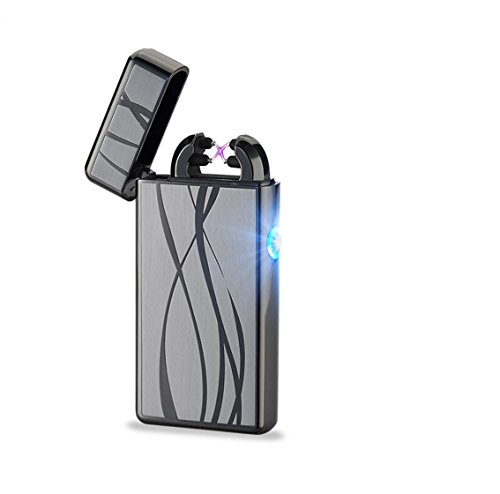 BOLT Lighter® USB Rechargeable Windproof Electric Plasma Dual Arc...