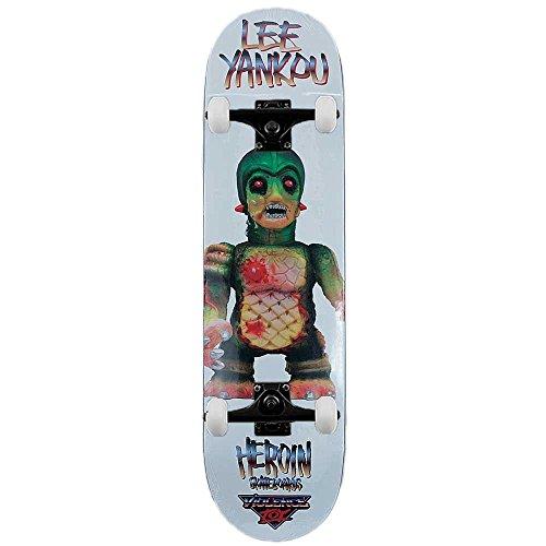 eroina Skateboards Lee Yankou violenza Toy complete skateboard Pro 21,3cm
