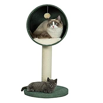 Maison de Chat Stable Cat Condo avec Une Grande Surface de Couchage,Tour Arbre Chat Maison Maison Mobilier Décoratif,Cattree