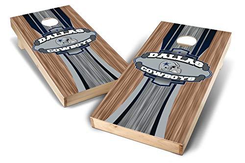 PROLINE NFL Dallas Cowboys 2'x4' Cornhole Board Set - Wood Design
