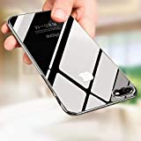 Tronisky Coque iPhone 8 Silicone, Coque iPhone 7, Crystal TPU Coque iPhone 8 / iPhone 7 Silicone Bumper Case Anti-Rayures Anti-Choc Souple Housse Etui pour iPhone 7 / iPhone 8, Transparent