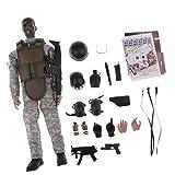 1.6 Soldado De La Policia Militar De 12 Pulgadas Figura De Accion Nb02a