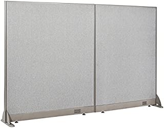 GOF Freestanding Office Partition, Large Fabric Room Divider Panel, 84