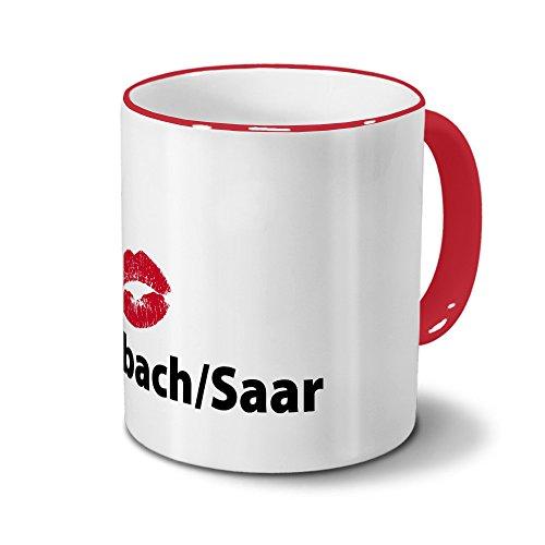 printplanet Städtetasse Sulzbach/SAAR - Design Kussm&