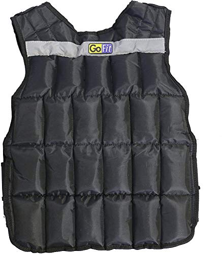 GoFit Padded Adjustable Weighted Vest