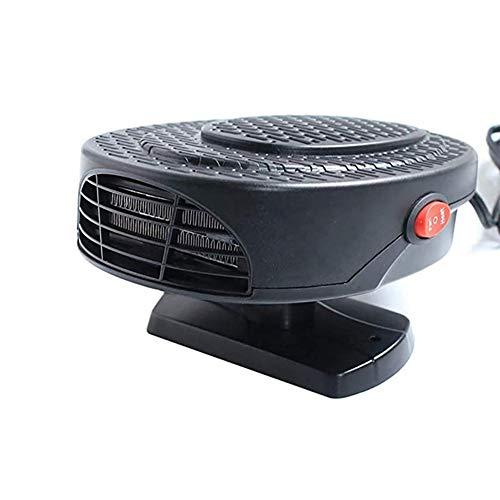 Z&LEI Calentador de automóviles Defroster, Portátil 12V 150W 2 en 1 Calentador de automóviles Auto Abrilador Desfronte Defraster Descongelación de la Ventana Ventana Demister