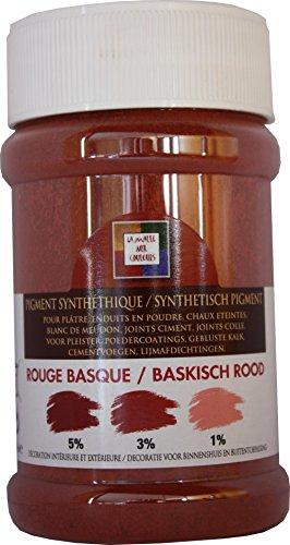 Pigment poudre Malle aux couleurs rouge basque 250 ml