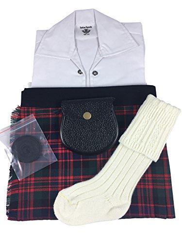 Honour of Scotland-Tartanmuster Jungen Kilt Scottish Highland